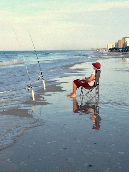 History of destin from a small fishing village to major for Surf fishing destin fl