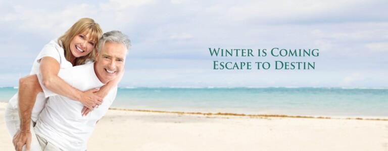 Winter is Coming Escape to Destin