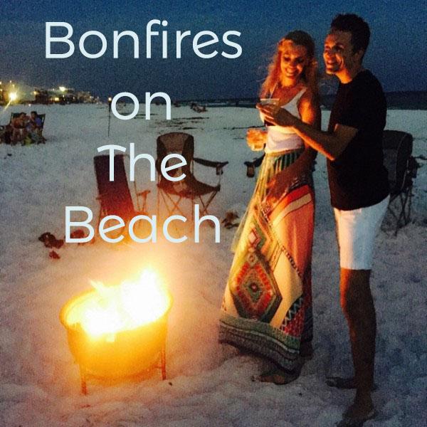 Bonfire on the Beach Destin Miramar Beach Florida