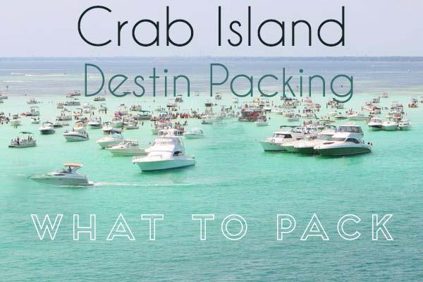 Crab Island Destin Tips and Tricks