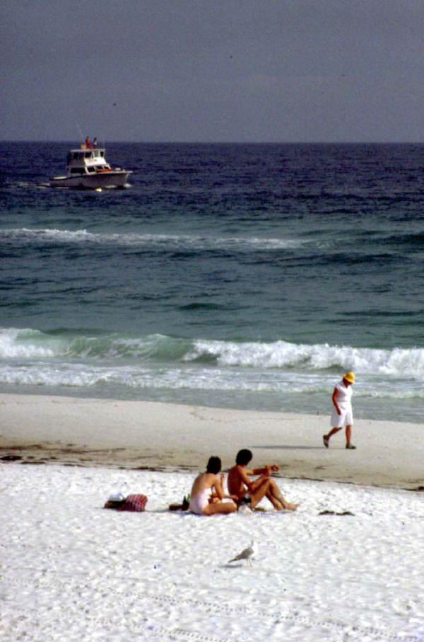 Beach scene - Destin, Florida 1982