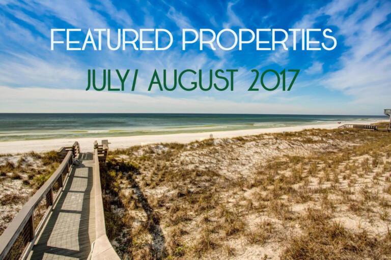Beach Condos In Destin Featured Properties July 2017