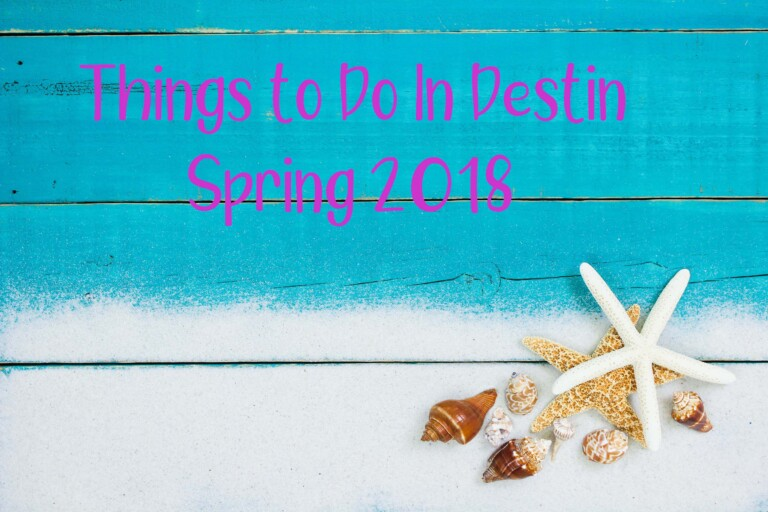 Destin Activities Spring 2018