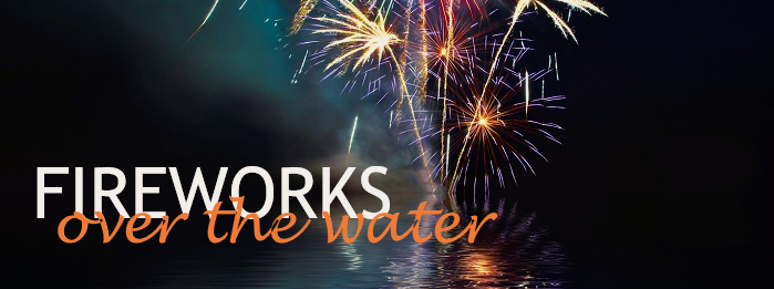 Fireworks Over the Water 2019