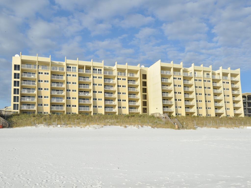 Exterior view of the Beach House Condos
